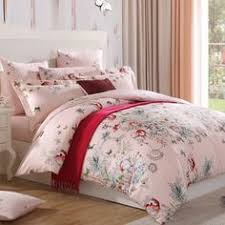 Girls Queen Size Bedding by Chic Butterfly Print Pink 4 Piece Tencel Bedding Sets