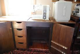 Sewing Cabinet With Lift by Stand And Deliver Bernina 930 The Last Sewing Machine I Will
