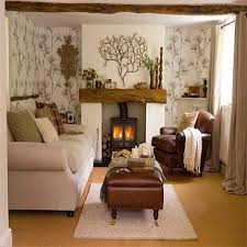 how to decorate a small living room with a fireplace interior