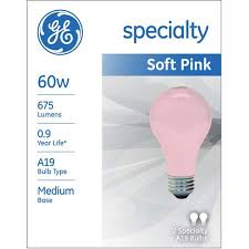 ge party light 60 watt a19 2 pack walmart com