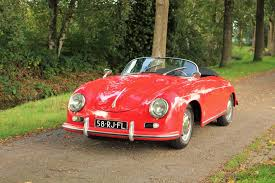 porsche 356 porsche 356 speedster replica classic sports cars holland