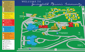 Map Of Mason Ohio by Springfield Masonic Community And Ohio Masonic Home Campus Map