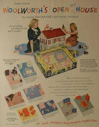 Vintage Bedroom Furniture 1940 I Couldn U0027t Resist This Vintage Colonial Dollhouse From The U002740s