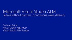 alm awareness enterprises tour visual studio alm 2012 overview