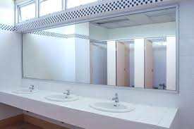 bathroom mirror repair lighted bathroom wall mirror installation best choices inspiration