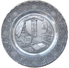 baby name plates artina pewter baby birth plate 9 in pewter plates