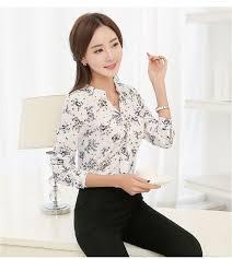 blouse wanita blouse wanita warna putih motif cantik myrosefashion