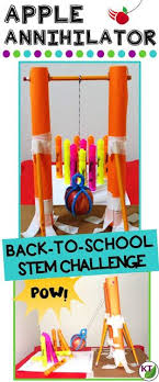 Challenge In Motion Back To School Stem Challenge In Apple Annihilator Students