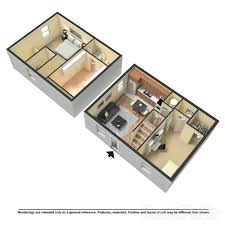 two bedroom townhouse floor plan apartments u2014 oak valley apartments