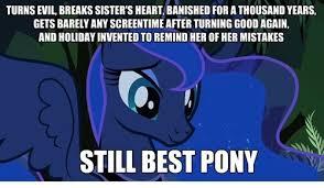 Mlp Luna Meme - princess luna my little pony lace necklace by wonderland leech