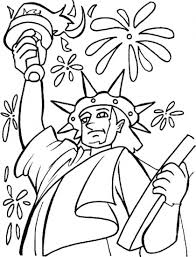 statue of liberty coloring page download free statue of liberty