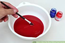 3 ways to make fake blood without food coloring wikihow