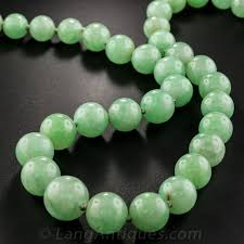 natural jade necklace images Natural jadeite burma 6 9 11mm graduating green jade bead necklace jpg