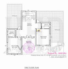 Contemporary Floor Plan by Flat Roof Contemporary Floor Plans Kerala Home Design And Floor