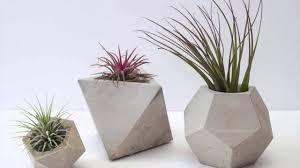 diy concrete pot 135 trendy interior or diy geometric concrete