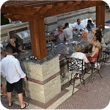 outdoor entertainment strictly stoneoutdoor entertainment dining room kitchen bar