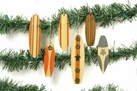 classic surfboard ornaments antler home