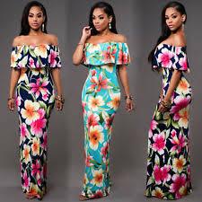 tropical dress ebay