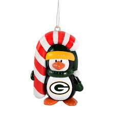 nfl green bay packers penguin ornament