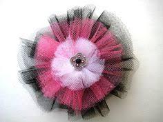 tulle hair bows florida state seminoles hair bow custom order for hair