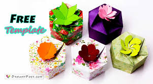 gift box how to make personalized gift boxes free template