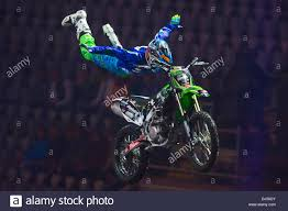 motocross freestyle tricks oslo norway 21st november 2013 brad burch goes a huge super man