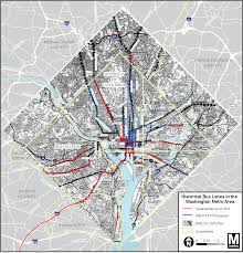 Washington Subway Map by Planitmetro We Had Bus Lanes A Half Century Ago And We Can Again