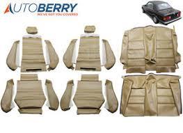 seat covers for bmw 325i bmw e30 325i 320i 318i m3 87 93 3 series leatherette seat covers