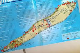 Grand Cayman Map Hikes Nature Notes