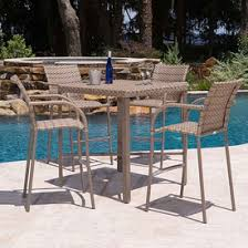 Driftwood Outdoor Furniture by Bar Height Patio Furniture Family Leisure
