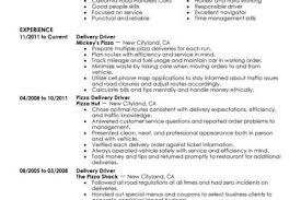 Delivery Driver Resume Examples by Driver Supervisor Resume Reentrycorps