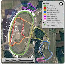 Michigan Adventure Map by Michigan International Speedway Automotive Test Track U0026 Facility