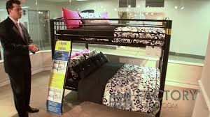 Metal Bunk Beds Full Over Full View This Metal Full Over Full Bunk Bed By Powell Youtube