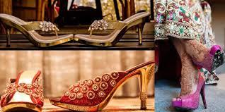 wedding shoes india wedding footwear for indian brides bollywoodshaadis