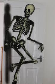 halloween door covers halloween skeleton door cover sofa cover use this skeleton to