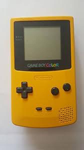 Nintendo Yellow Game Boy Color Gbc Nintendo Game Boy Color Gameboy Color