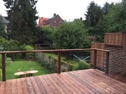terrasse en bois suspendue terrasses suspendues les sens du bois