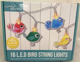 16 l e d childrens bedroom playroom bird string lights amazon co
