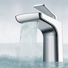 Contemporary Faucets Chrome Finish Contemporary Unique Waterfall Stainless Steel