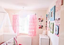 Pink Curtains For Nursery Enchanting Pink Curtains For Nursery And Ba Nursery Pink Curtains