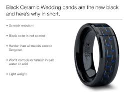 titanium wedding bands for men pros and cons why black ceramic wedding bands