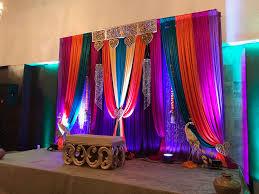 vibrant colors garba mehandi sangeet pithi decoration
