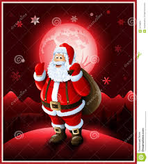 santa claus background christmas greeting card royalty free stock