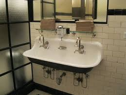 fabulous double bathroom sink quartino wine bar downtown chicago