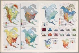North America Temperature Map by North America Thematic Maps David Rumsey Historical Map Collection