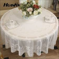 Buy Table Linens Cheap - cheap table cloths dining tables captivating white rectangle