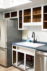 How To Paint Kitchen Cabinets Sarah Hearts - Enamel kitchen cabinets