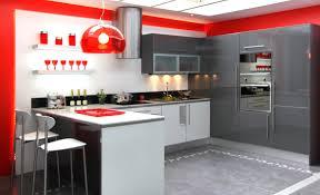 fabrication cuisine cuisine tendance ilot anthracite et blanche fabrication française