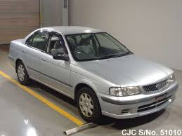 nissan sunny 2002 1999 nissan sunny silver for sale stock no 51010 japanese