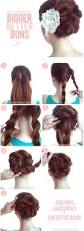 Easy Dressy Hairstyles For Long Hair by 15 Braided Bun Updos Ideas Easy Bun Updos And Prom